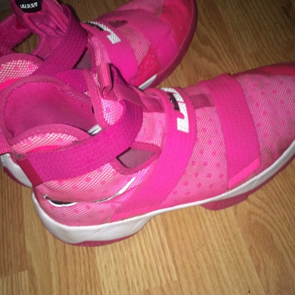 Nike Shoes   Pink Womens Lebrons Size 9